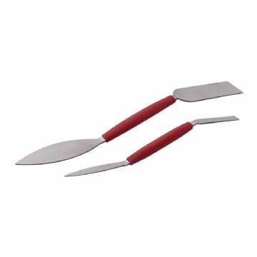 2 Piece Silverline 226833 Plasterers Leaf & Square Tools Set